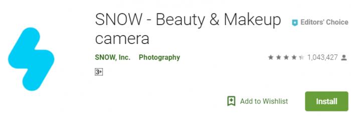Snow - Beauty app