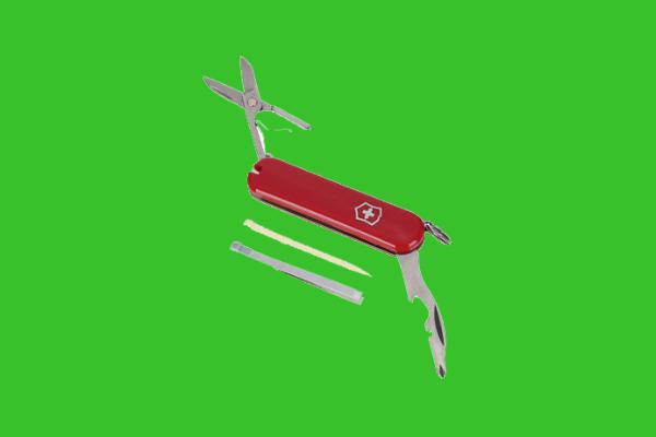 Pocket knife for traveler