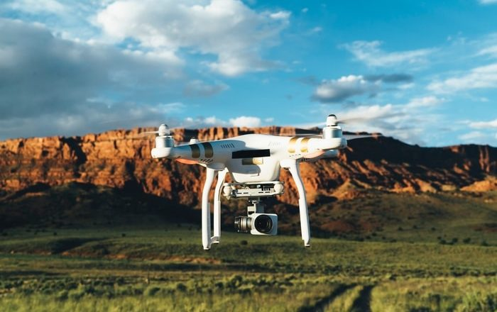 Drone technology for photography