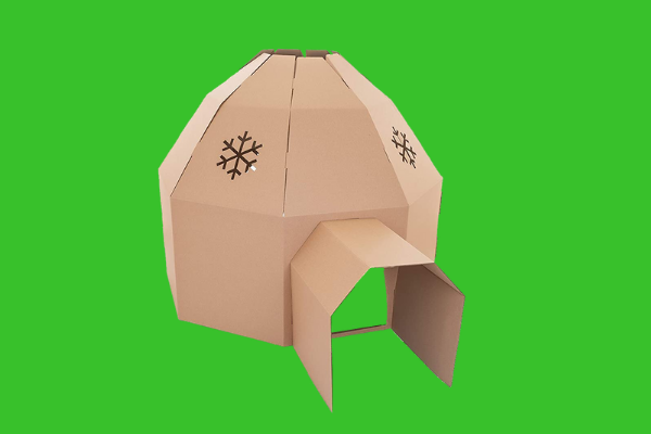Cardboard Igloo