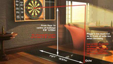 dart board set ups